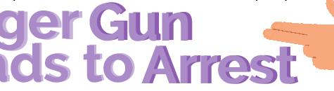 Finger Gun Leads to Arrest