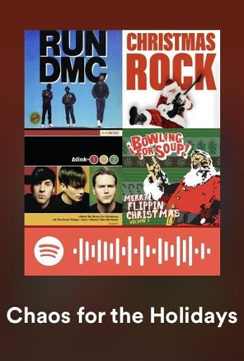 Chaos for the Holidays- An Alternative Holiday Playlist